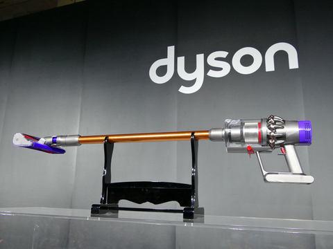 ダイソンの最新コードレススティッククリーナー v10 は 全ての掃除機に