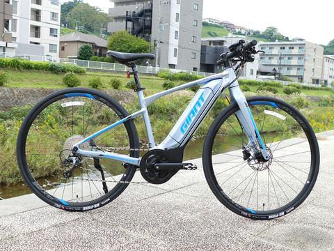 ジャイアント 初のe bikeクロスバイクタイプの escape rx e を発表