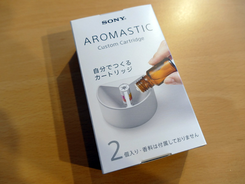 「AROMASTIC Custom Cartridge」