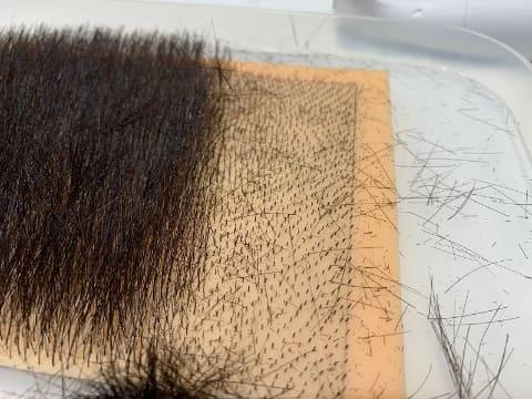 チクチク 陰毛