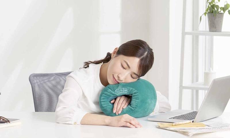 昼寝枕としても利用可能