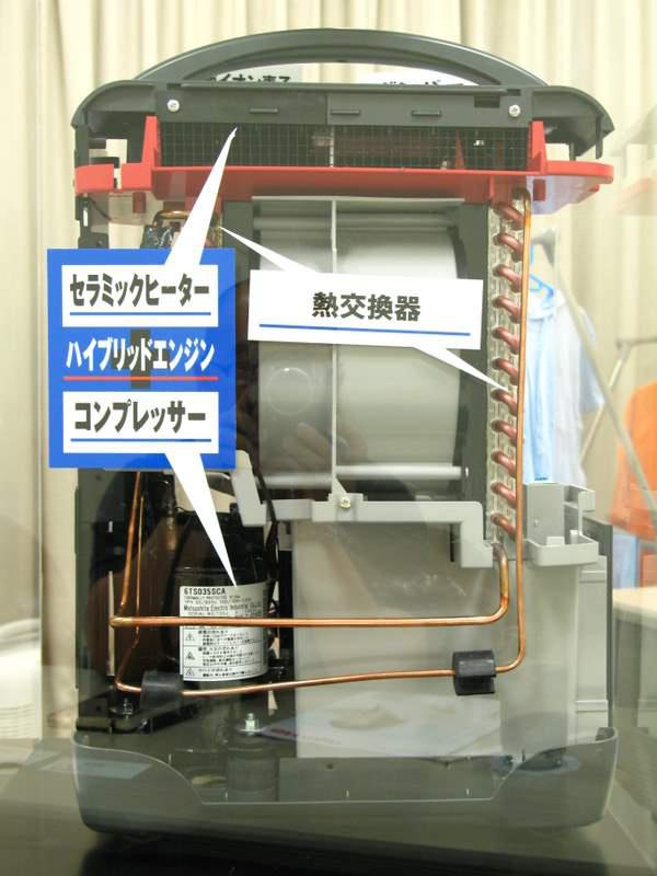 除湿 機 コンプレッサー