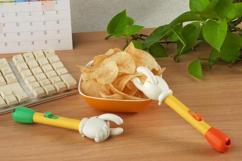 アスペルガー症候群の人はポテトチップスを箸で食べる