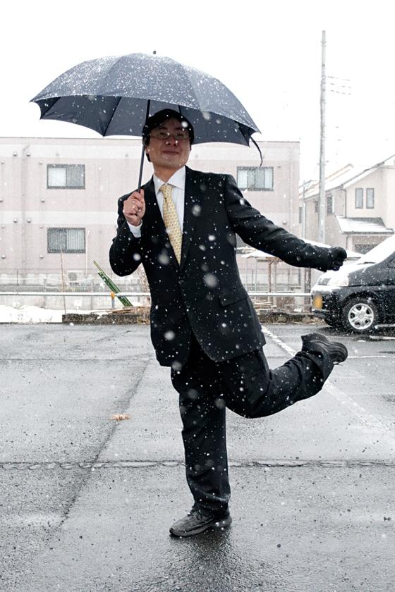 雨の日に備えて 無印で傘を買いました。 黒いギンガムチェックです^^*