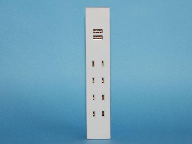 モバイル機器を多く持っているユーザーとしては、USBポート2個口のタップがラインアップから消えてしまったのがちょっと残念なところかな。今後ますますUSBの需要は  ...