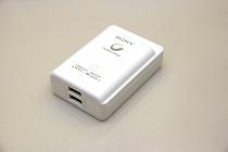 ソニーの小型な発電・充電器 CP-A2LAKS