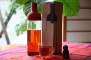 [やじうまミニレビュー] HARIO「フィルターインボトル」 ~ワインじゃないよ! 水出し茶用のおしゃれなボトル♪
