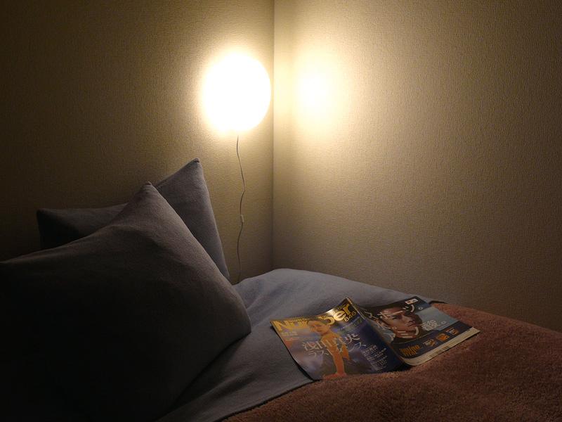 LEDアルミアームライト・クランプ付