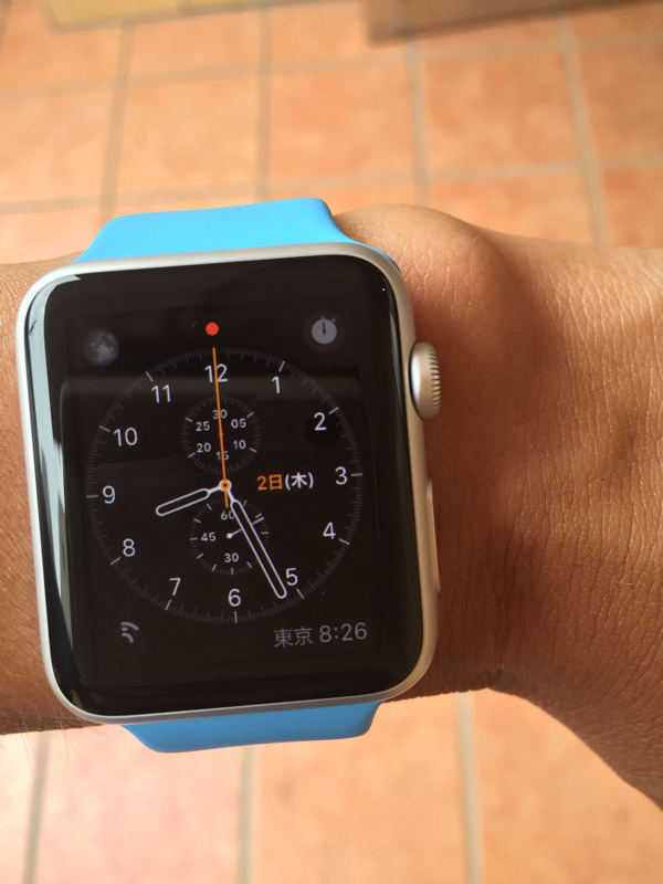 "<center class="""">Apple「Apple Watch Sport(42mm)」</center>"