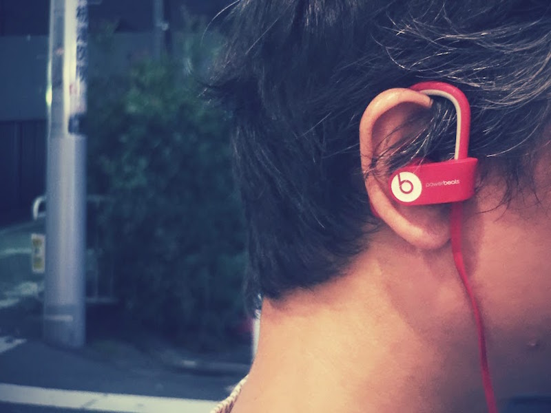 "<center class=""""> Beats 「Powerbeats2 ワイヤレス」 </center>"
