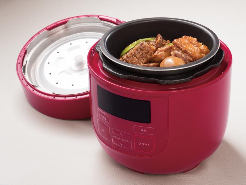 シロカ、スロー調理や無水/蒸し/炊飯/温め直しでも使える電気