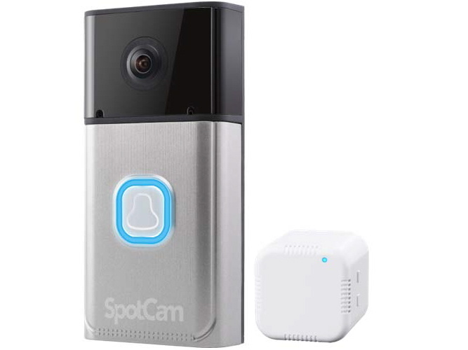 プラネックス、外出先でもスマートフォンで応答できる、クラウド対応のワイヤレスドアモニター